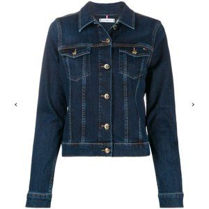 NWOT Fitted Buttoned Denim Jean Jacket